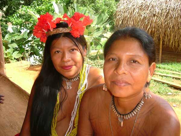 Emberá Indianer