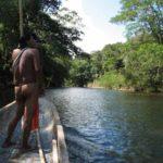 Kanu Embera Indianer Panama