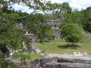 Mayatempel Ausgrabungen
