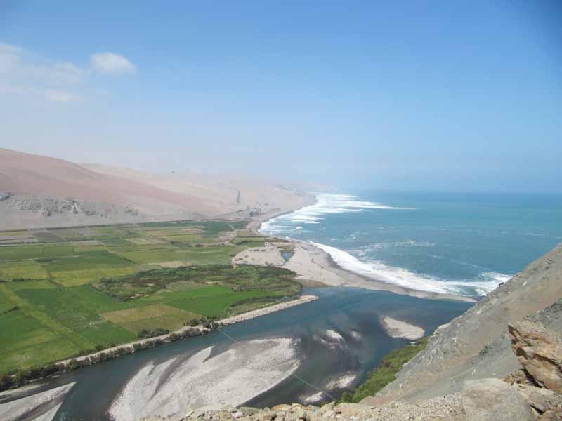 Küste Peru