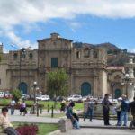 Platz in Cajamarca