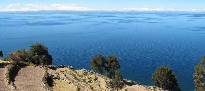 Titicacasee mit Insel Taquile