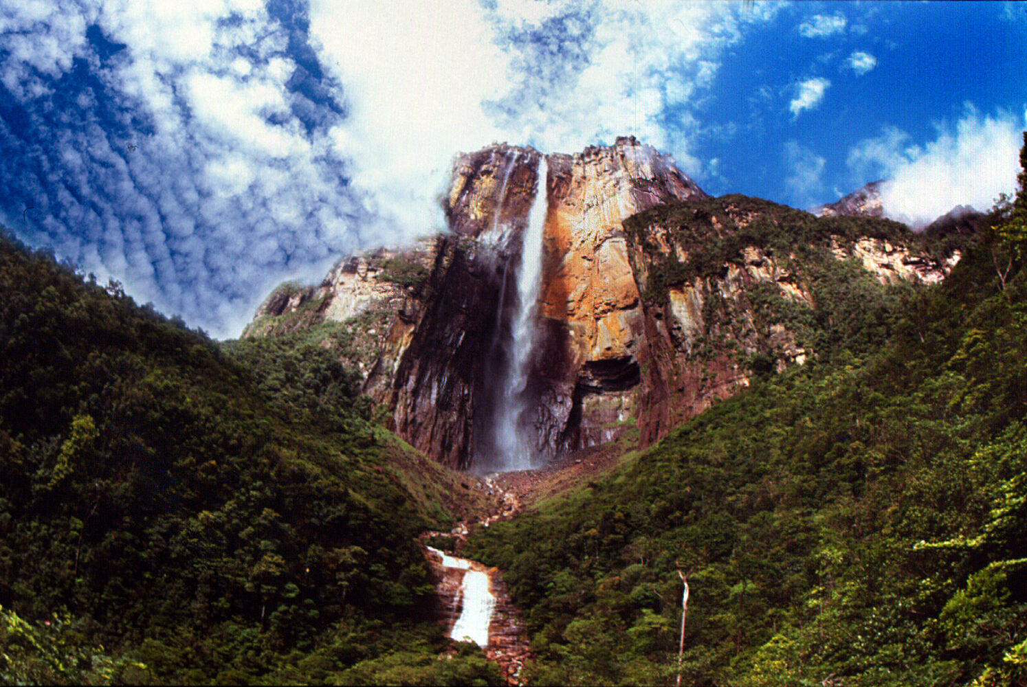 Angel Wasserfall in Venezuela