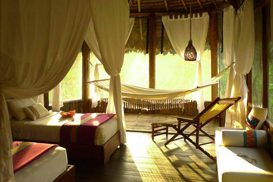 Kapawi Lodge Zimmer