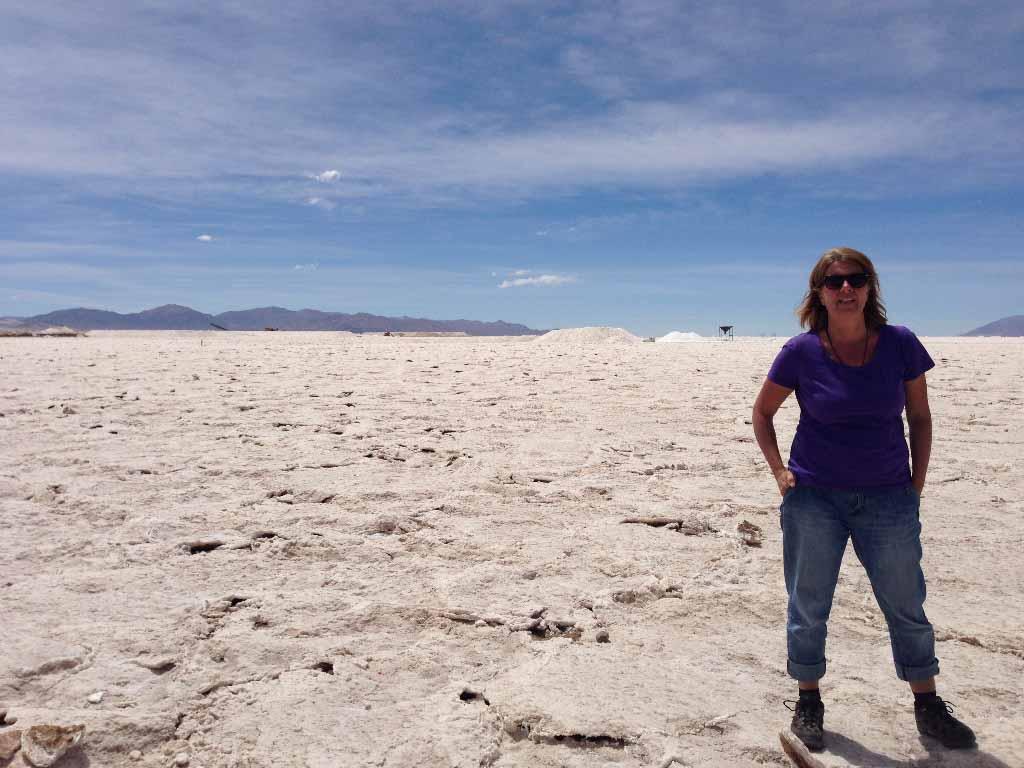Salzwüste Argentinien