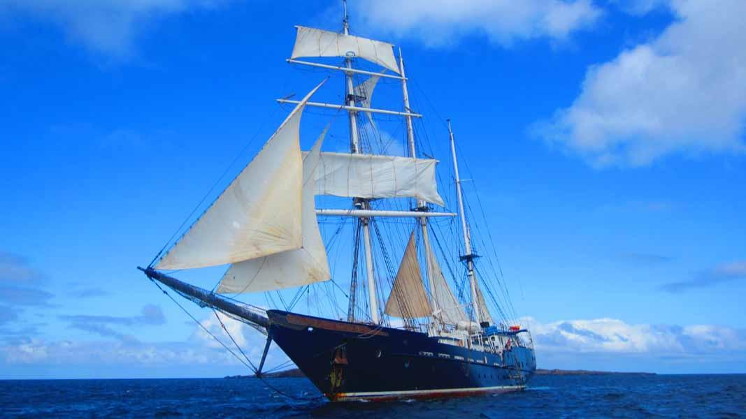 Galapagos Segelyacht Mary Anne