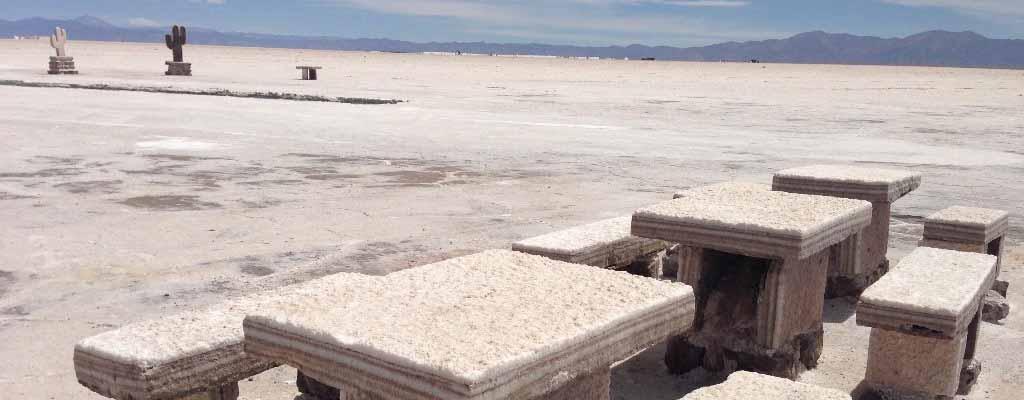 Salzseen in Nordargentinien