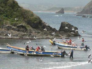 Fischer auf der Insel Chiloé