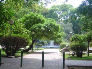 Plaza in Mendoza