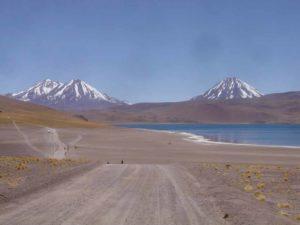 Fahrt durch die Atacama Wüste
