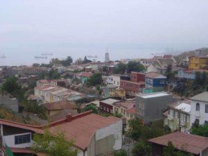 Valparaíso an der Pazifikküste