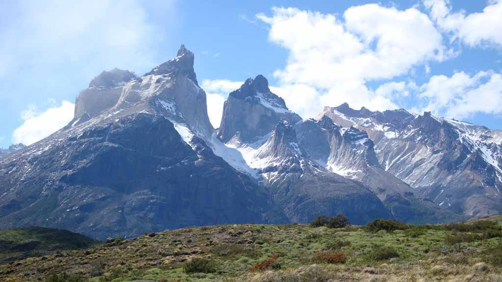 weltbekannte Torres del Paine in Patagonien