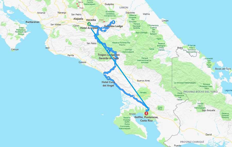 Individualreise Costa Ricas Wilder Süden