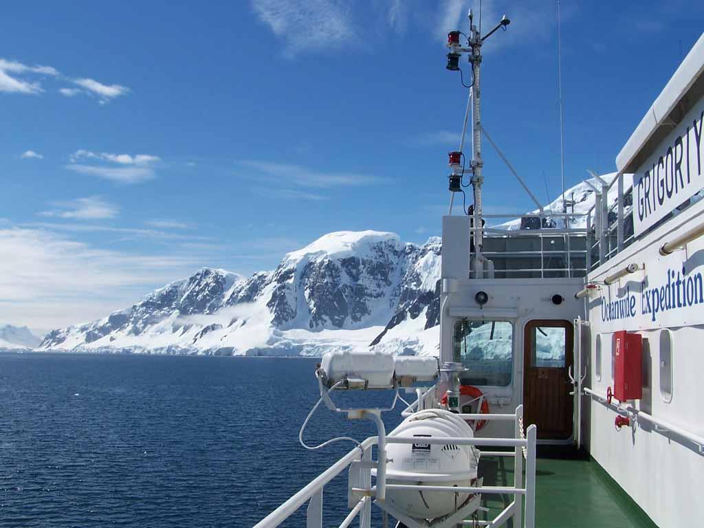 Expeditions in die Antarktis