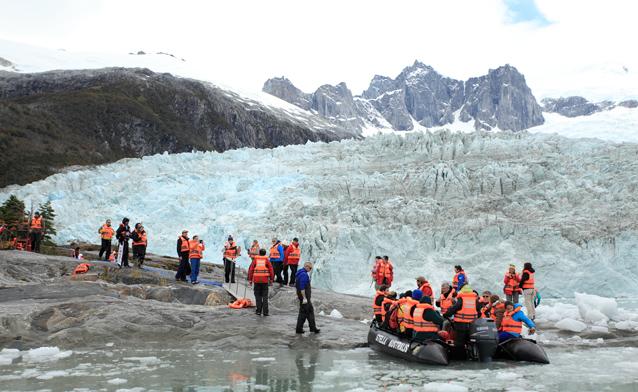 Allee der Gletscher