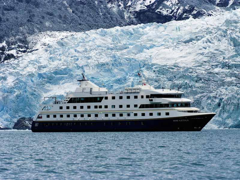 Kreuzfahrt mit der Crucero Australis