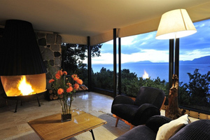 Sweet des Hotel Antumalal Pucon in Chile mit traumhaften Blick