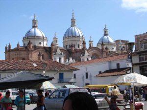 Blick auf die Kathedrale in Cuenca