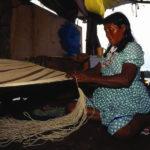 Kunsthandwerk des Webens im Orinoco Delta