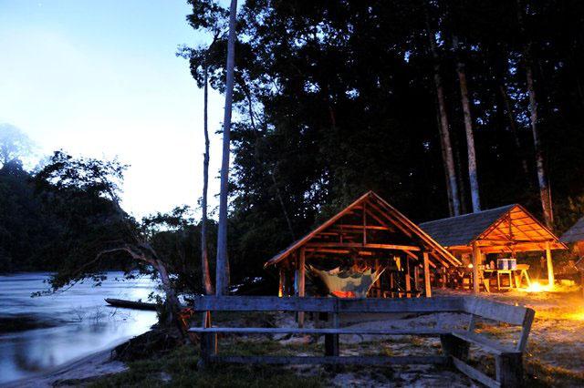 Kasikasima Lodge in Suriname