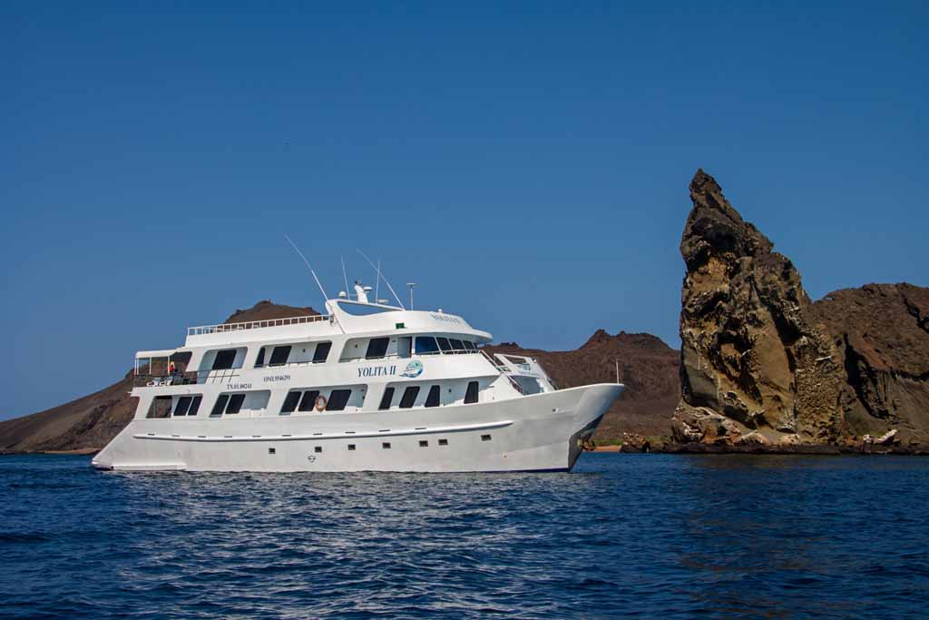 Motoryacht Yolita II Galapagos Kreuzfahrt