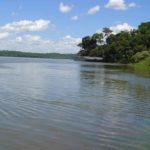 Tropisches Klima am Rio Parana.