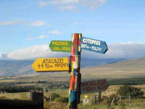 Bunte Vielfalt an Vulkanen in Ecuador