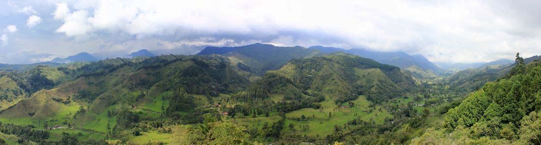Wandern in Kolumbien durch die Vulkankette Los Nevados
