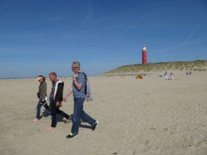 Wanderung auf der Nordseeinsel Texel
