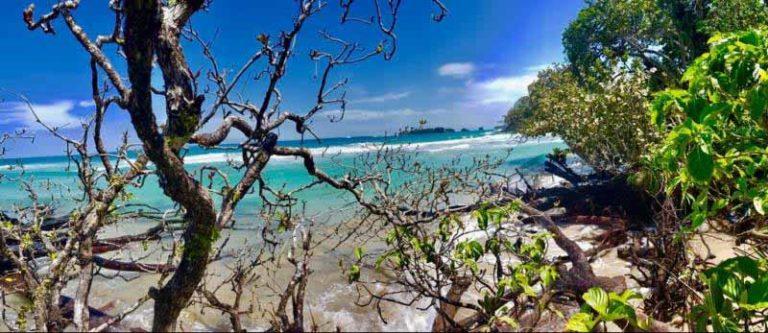 Traumstrand an der Pazifikküste von Costa Rica