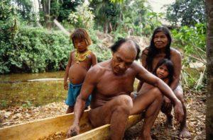 Besuch einer Embera Familie beim Darién Nationalpark
