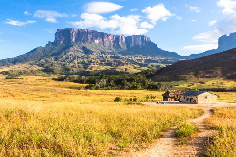 Blick auf den Mount Roraima in Venezuela
